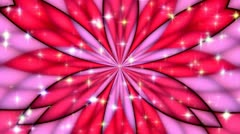 Colorfull Background- Crazy pink+red-Turns Stock Footage
