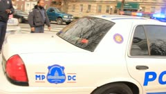 Police at the Conservative Political Action Conference, Washington, DC 2012 - stock footage