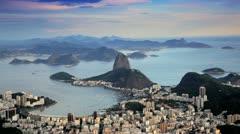 Sugar Loaf Mountain, Rio De Janeiro, Brazil Stock Footage