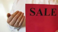 Sale, sale Stock Footage