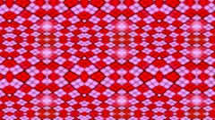 Colorfull Background- Crazy pink+red- Small squares Stock Footage
