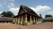 Wat Si Saket, Vientiane, Laos Stock Footage