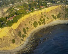 Aerial view of luxury designed real estate, USA Stock Footage