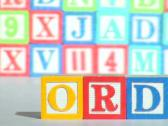 Alphabet blocks V1 - PAL Stock Footage
