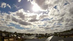 Clouds time lapse.mp4 - stock footage