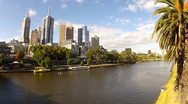 Stock Video Footage of YARRA RIVER ROW BOATS.mp4