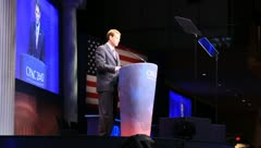 Rick Santorum at Conservative Political Action Conference, Washington, DC 2012 - stock footage