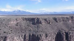 Rio Grande Gorge Bridge Stock Footage