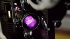 Projector 8mm Close Up (HD) Stock Footage