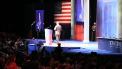at the Conservative Political Action Conference, Washington, DC 2012 - stock footage
