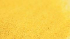 Garlic powder macro Stock Footage