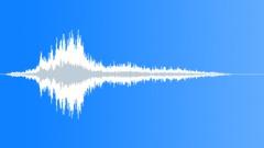 Metallic distant whoosh - sound effect