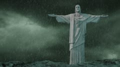 Jesus Storm Green Stock Footage