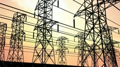 Electricity power station Stock Footage