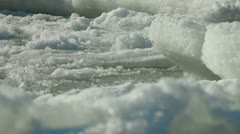 Stock Video Footage of Melting Sea Ice