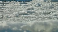 Broken Icy Surface Stock Footage