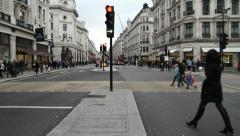 Regent street, London Stock Footage