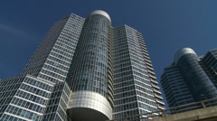 Ultramodern Condo Tower - Toronto Stock Footage