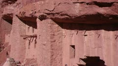 Anasazi Cliff Dwellings Stock Footage