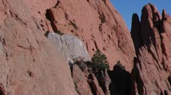 Garden of the Gods Pan 4 Stock Footage