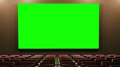 Cinema v4 16 9 01 loop Stock Footage