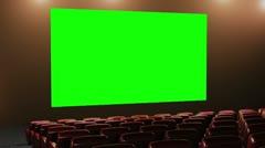 Cinema v4 16 9 03 loop Stock Footage