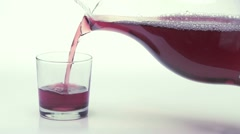 Grape Juice w 03 - stock footage