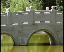 Japanese bridge - PAL Stock Footage