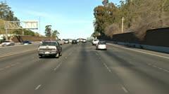 Highway 101 Northbound San Rafael 3 Stock Footage