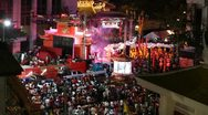 Stock Video Footage of Chinese New Year Celebrations in Chinatown, Bangkok, Thailand