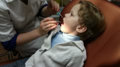 Pediatric Dentistry - stock footage