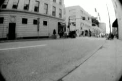 Bicycle Race 01 - Super 8mm Stock Footage