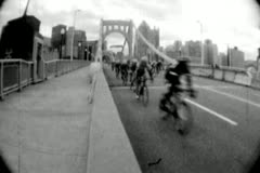 Bicycle Race 04 - Super 8mm Stock Footage