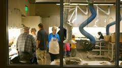 Dinosaur lab Stock Footage