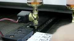 Reflow Oven for Printed Circuit Board Assembly Stock Footage