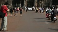 Angkor Thom_LDA N 00821 Stock Footage