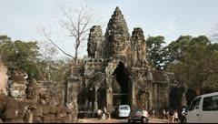 Angkor Thom_LDA N 00823 Stock Footage