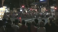 Chinese New Year 2012, Sydney, Australia Stock Footage