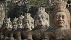 Angkor Thom_LDA N 00825 - stock footage