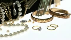 jewelry - stock footage