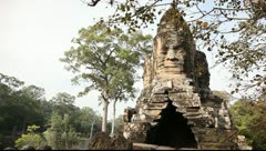 Angkor Thom_LDA N 00828 Stock Footage