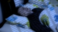 Stock Video Footage of 10658 man sleep snore