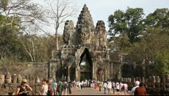 Angkor Thom_LDA P 00839 Stock Footage
