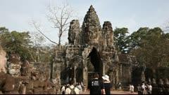 Angkor Thom_LDA P 00842 Stock Footage