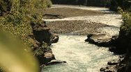 Stock Video Footage of whitewater river