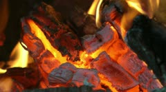Fire slow motion Stock Footage