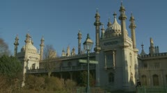 Brighton's Royal Pavilion (sixteen) - stock footage