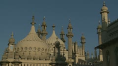 Brighton's Royal Pavilion (fourteen) - stock footage