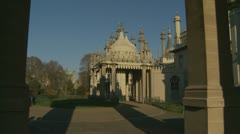 Brighton's Royal Pavilion (twelve) Stock Footage