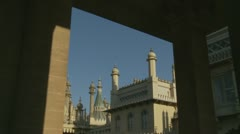 Brighton's Royal Pavilion (eleven) - stock footage